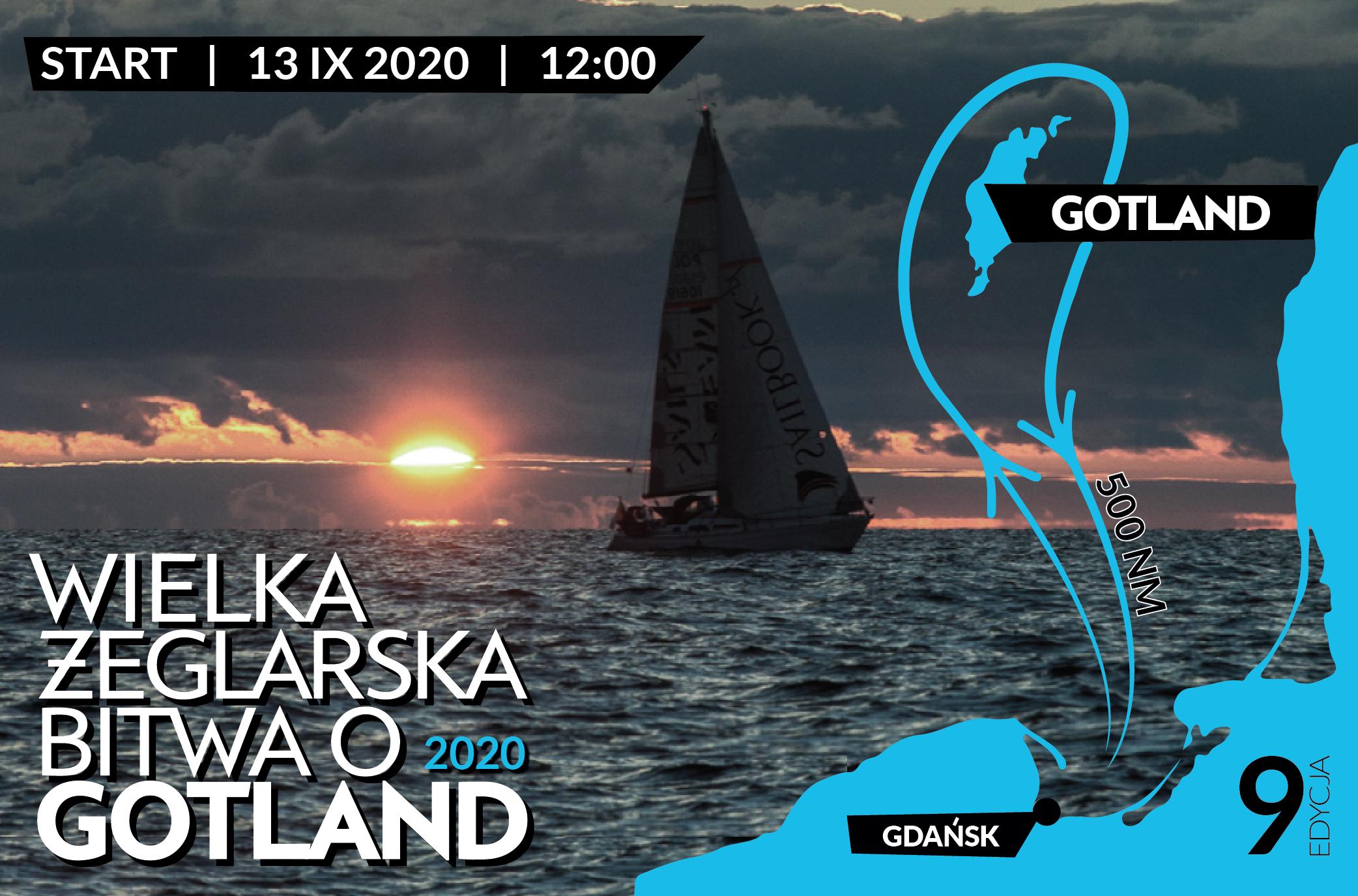 Plakat Bitwy o Gotland 2020